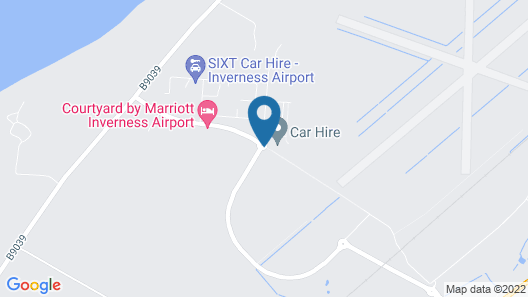 Courtyard by Marriott Inverness Airport Map