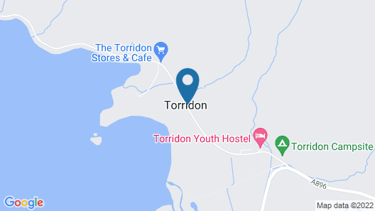 Torridon Youth Hostel Map