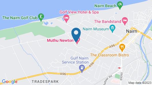 Muthu Newton Hotel (Near Inverness Airport) Map