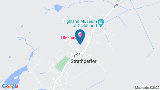 The Highland Hotel Map