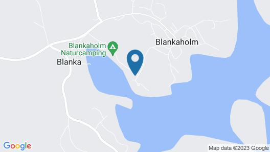 Blankaholms Bad och Naturcamping Map