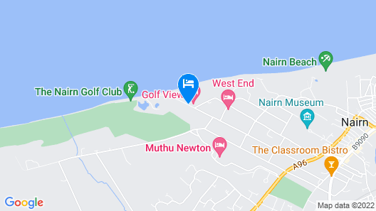 Golf View Hotel & Spa Map