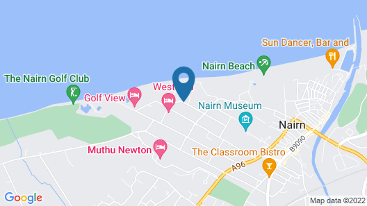 West End Hotel Map