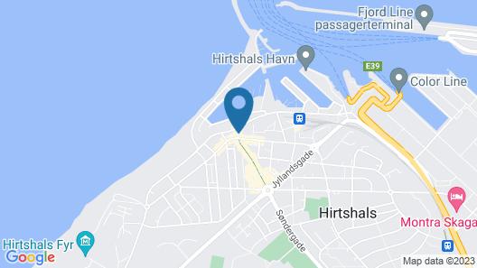 Hotel Hirtshals Map