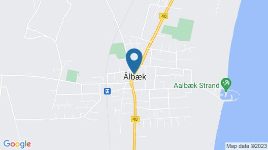 Aalbæk Gl. Kro Map