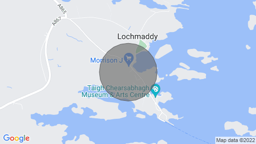 5 bedroom accommodation in Lochmaddy Map