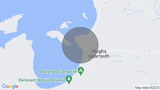Creagan , Hougharry,  North Uist Map