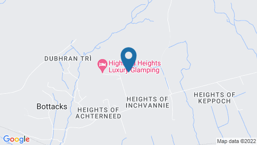 Highland Heights Luxury Glamping Map