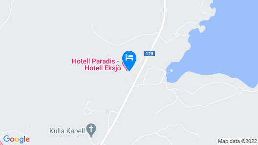Hotell Paradis Map