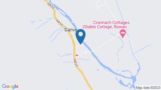 Rosemount Cottage - Garve Map
