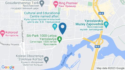 Apart-Comfort on Tchaikovskogo 2B Map