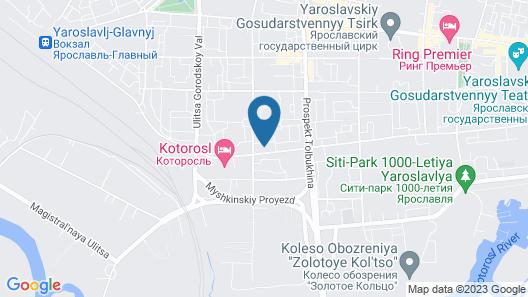 Apart-Comfort on Bolshaya Oktybrskya 126 Map