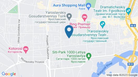 Apart-Comfort on Volnaya 3 Map
