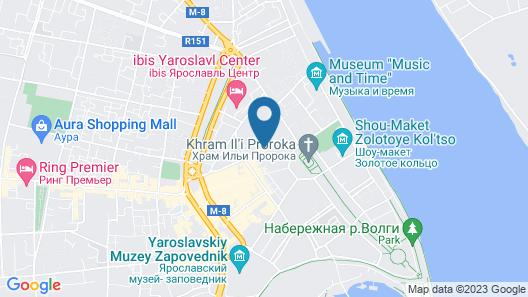 Apart-Comfort on Maksimova 5 Map
