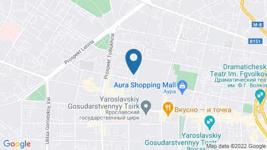 Apartment Volodarskogo 59 Map