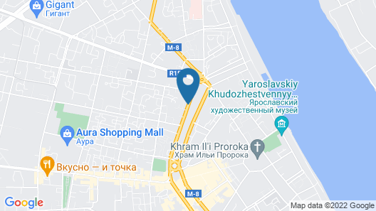 Apart-Comfort on Ushinskogo 8 Map