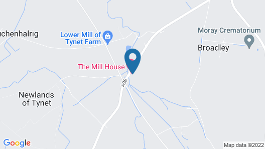 The Mill House Hotel Map