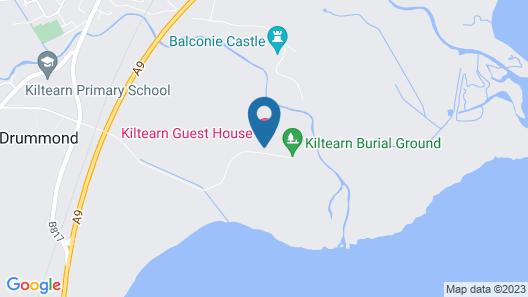 Kiltearn Guest House Map