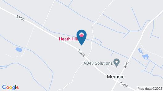 Heath Hill Hotel Map