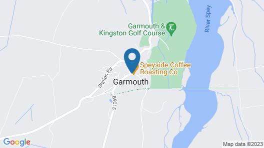 GARMOUTH HOTEL Map