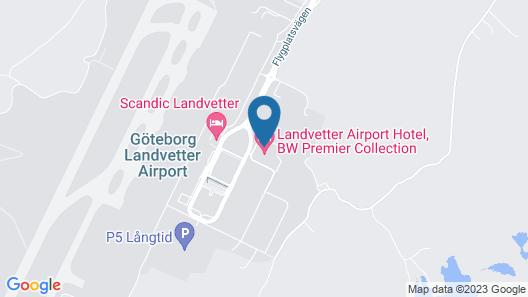 Landvetter Airport Hotel Best Western Premier Collection Map