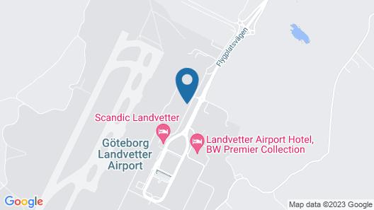 Scandic Landvetter Map