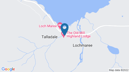 The Old Mill Highland Lodge Map