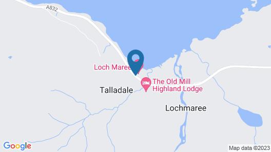 Loch Maree Hotel Map