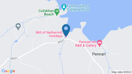 Mill of Nethermill Holidays Map