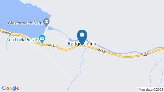 Aultguish Inn Map