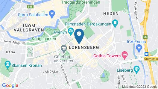 Scandic Rubinen Map