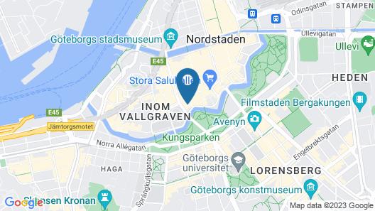Hotel Flora Map
