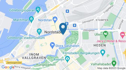 STF Göteborg City Hotel Map