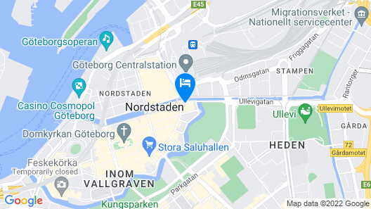 Radisson Blu Scandinavia Hotel Map