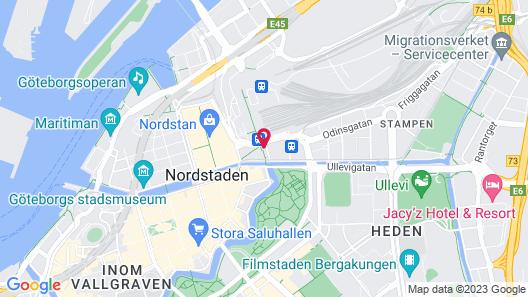 Clarion Hotel Post, Gothenburg Map