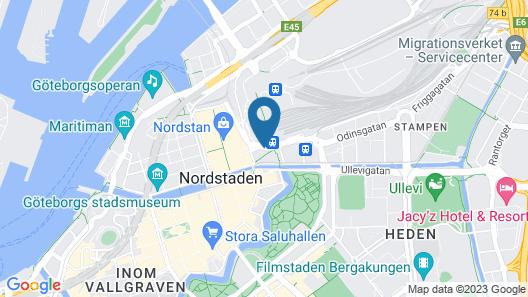 Hôtel Eggers Map