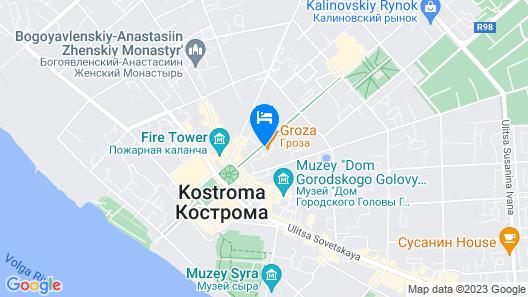 Hotel Ostrovskiy Map