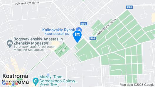 Dom na Sennom Map