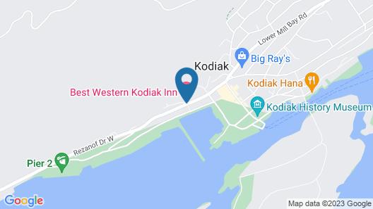 Best Western Kodiak Inn And Convention Center Map