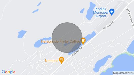 Kodiak, Alaska Executive Home Map