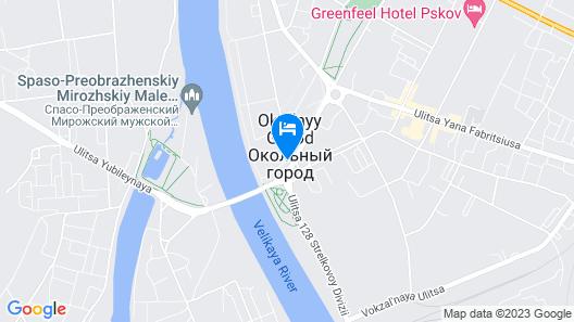 Pokrovskiy Hotel Map