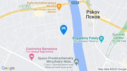 Hostel Pskov Map