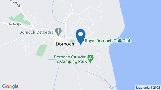 Links House at Royal Dornoch Map
