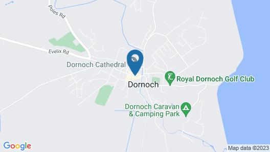 Dornoch Castle Hotel Map