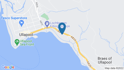 Harbour House Bed & Breakfast Map