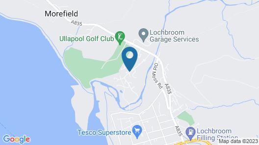 Morefield Motel Map