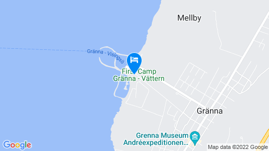 Gränna Camping Map