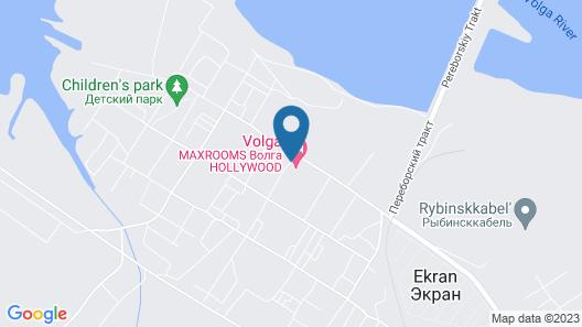 MaxRooms Volga Hollywood Map
