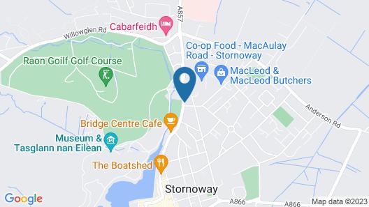 Hebridean Guest House Map
