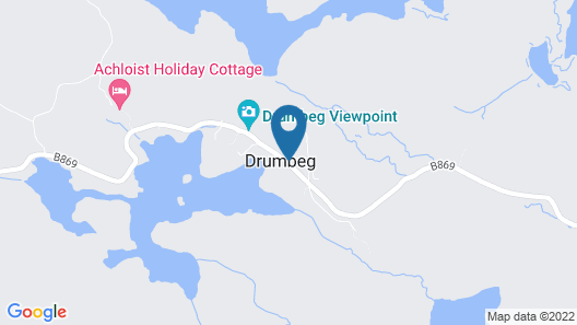The Drumbeg Hotel Map